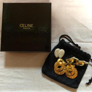 セリーヌ(celine)のceline 三連リング イヤリング(イヤリング)