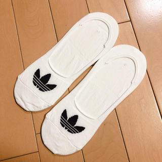 アディダス(adidas)のadidas フットカバー2足セット(ソックス)