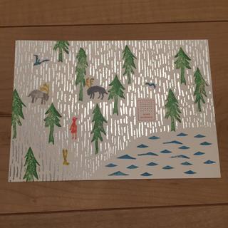 ミナペルホネン(mina perhonen)のミナペルホネン ポストカード(ノベルティグッズ)