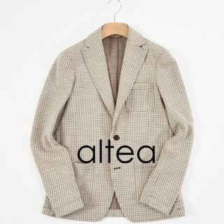 アルテア(ALTEA)のaltea イタリア製 ウールジャケット S 新品未使用(テーラードジャケット)
