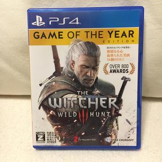 プレイステーション4(PlayStation4)のウィッチャー(家庭用ゲームソフト)