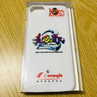 ニューギン(newgin)のiPhoneケース 真 花の慶次 新品未開封(パチンコ/パチスロ)