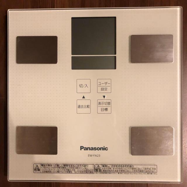 Panasonic(パナソニック)のPanasonic 体組成計 スマホ/家電/カメラの美容/健康(体重計/体脂肪計)の商品写真