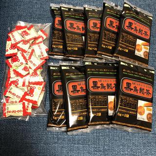 黒烏龍茶 ティーバッグ 5g×2pが9袋+おまけ(茶)