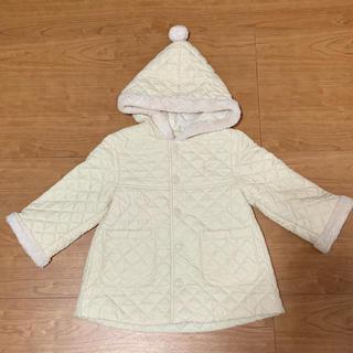 kumikyoku(組曲) - 組曲 80cm 中綿コート オフホワイト