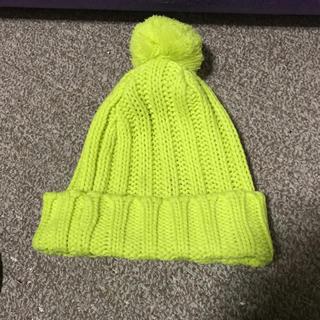ジェーエスジー(JSG)のJSG 蛍光 ニット帽(ニット帽/ビーニー)
