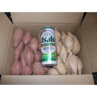 種子島ゴールド(種子島紫) & 安納芋(紅) SSサイズ詰め合わせ 6キロ(野菜)