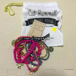 キャットハミル(CAT HAMMILL)のピンク ブレスレット(ブレスレット/バングル)