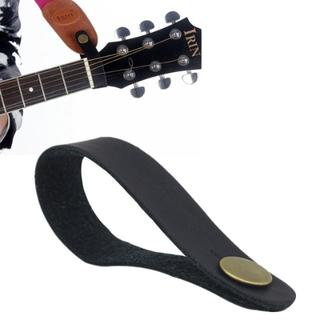 ★大人気 ギター ネック ストラップ ホルダー ブラック(ストラップ)
