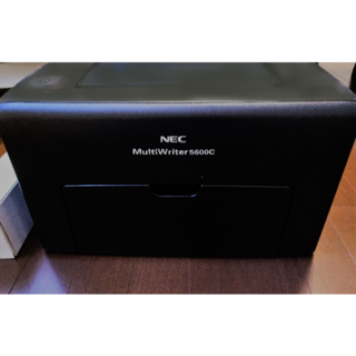 エヌイーシー(NEC)のカラーレーザー NEC  MultiWriter 5600C(PC周辺機器)