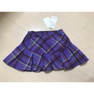 アナスイミニ(ANNA SUI mini)の新品未使用 ★ ANNA SUI mini アナスイミニ チェック スカート(スカート)