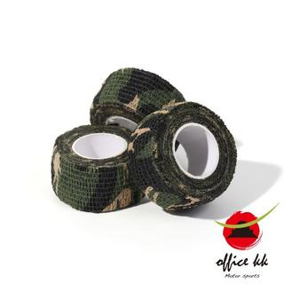 カモフラ 迷彩テープ3巻セット サバゲー キャンプ アウトドア(カスタムパーツ)