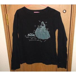 ディズニー(Disney)のシンデレラのTシャツ(長袖) サイズM(Tシャツ(長袖/七分))