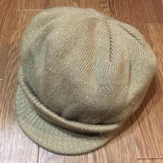 ロニィ(RONI)のRONI♡ニットキャスケット帽子(帽子)