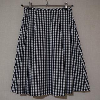 オールドイングランド(OLD ENGLAND)のギンガムチェックスカート(ひざ丈スカート)
