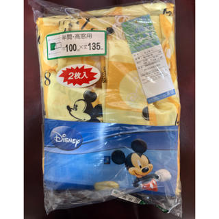 ディズニー(Disney)のミッキー カーテン新品 2枚入り*(カーテン)