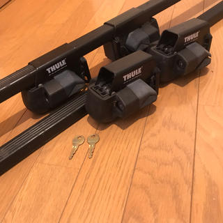 スーリー(THULE)のスーリー  フット415&バー760(108cm)(車外アクセサリ)