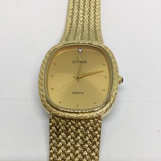シーマ(CYMA)の美品  CYMA  メンズクォーツ(腕時計(アナログ))