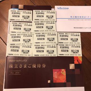 セイブヒャッカテン(西武百貨店)の西武ホールディングス株主優待(その他)