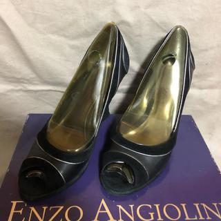 エンゾーアンジョリーニ(Enzo Angiolini)のENZO ANGIOLINI ウェッジソール(ハイヒール/パンプス)