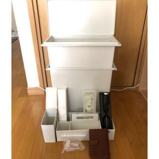 ムジルシリョウヒン(MUJI (無印良品))の無印良品 IKEA STARBUCKS 雑貨 まとめ売(日用品/生活雑貨)