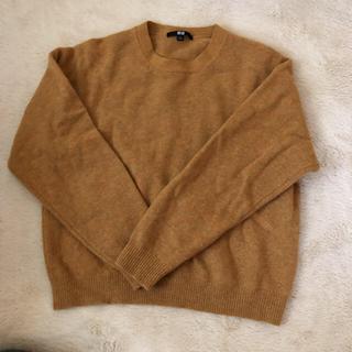 ユニクロ(UNIQLO)のプレミアムラムクルーネックセーター(ニット/セーター)