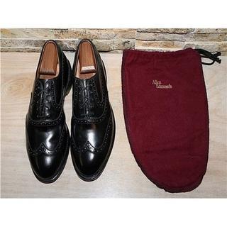 アレンエドモンズ(Allen Edmonds)の1度使用 アレンエドモンズ Birmingham ウイングチップ黒 26,5cm(ドレス/ビジネス)