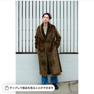 エンフォルド(ENFOLD)の売り切り!2018AW styling/ ロングエコファーコート(毛皮/ファーコート)