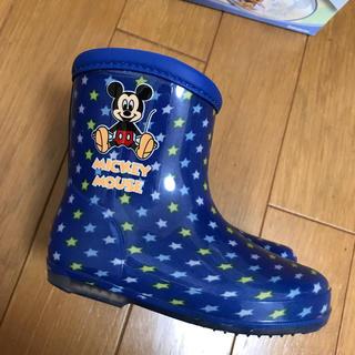 ディズニー(Disney)のミッキー 長靴 13㎝(長靴/レインシューズ)