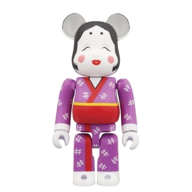 MEDICOM TOY(メディコムトイ)のベアブリック BE@RBRICK おかめ 100% ソラマチ スカイツリー エンタメ/ホビーのおもちゃ/ぬいぐるみ(キャラクターグッズ)の商品写真