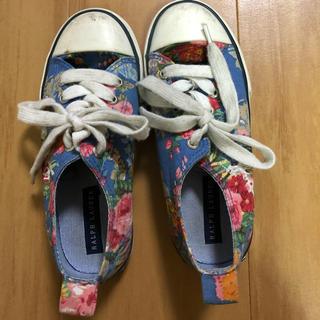 ラルフローレン(Ralph Lauren)のラルフローレン 靴19cm(スニーカー)