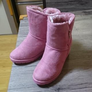 リー(Lee)のLee、Sサイズ、ピンクのブーツ。(ブーツ)