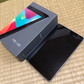 ネクサス7(NEXUS7)のNexus 7 16GB タブレット Wi-Fi(タブレット)