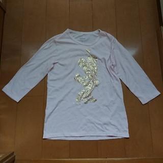 ディズニー(Disney)のディズニーTシャツ 7分丈(Tシャツ(長袖/七分))