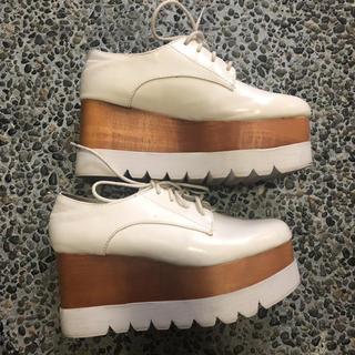 ジェフリーキャンベル(JEFFREY CAMPBELL)のジェフリーキャンベル 厚底 シューズ 37 StellaMcCartney(ローファー/革靴)