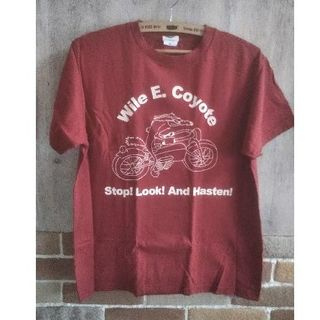 バックドロップ(THE BACKDROP)のバックドロップ コヨーテプリントTシャツ(Tシャツ/カットソー(半袖/袖なし))