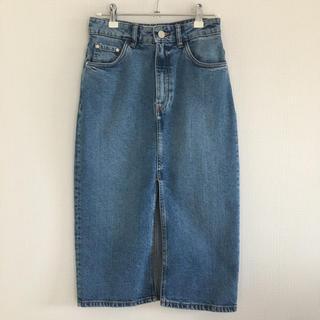 ザラ(ZARA)の未使用/ZARA/ザラ/デニムタイトスカート(ひざ丈スカート)