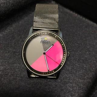 ヌーンコペンハーゲン(noon copenhagen)のnoon ピンク(腕時計)