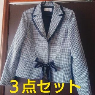 シマムラ(しまむら)の千鳥格子柄スーツ3点セット(スーツ)