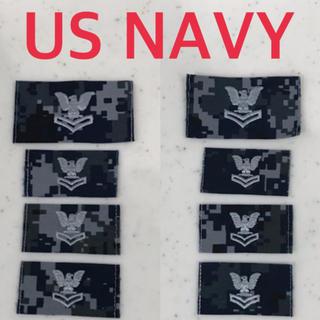 送料無料 新品未使用 USNAVY オフィシャル ユニフォーム パッチ8点セット(戦闘服)