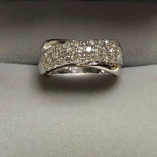 ご売約済み商品    k18 ダイヤモンド リング(リング(指輪))