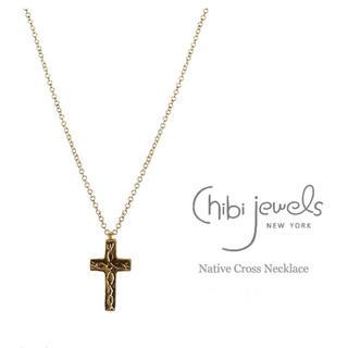 チビジュエルズ(Chibi Jewels)のchibi jewels Native Cross Necklaces/GOLD(ネックレス)