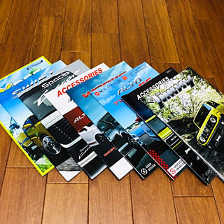スズキ - スズキ車両カタログセット 2015年〜2018年