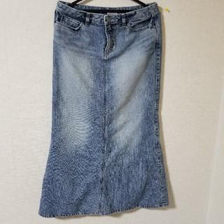 スウィートキャメル(SweetCamel)のデニムマキシスカート(ロングスカート)