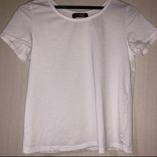 シマムラ(しまむら)の白 Tシャツ(Tシャツ(半袖/袖なし))