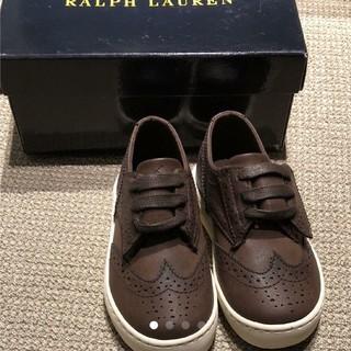 ラルフローレン(Ralph Lauren)の新品 ラルフローレン 靴 キッズ 入園式 15.0(スニーカー)