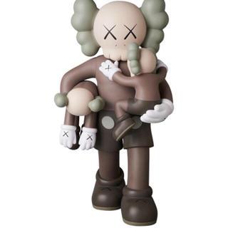 メディコムトイ(MEDICOM TOY)のmedicom toy kaws clean slate brown ブラウン(キャラクターグッズ)