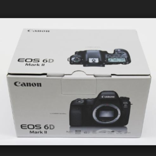 キヤノン(Canon)の【新品・未開封】キヤノン EOS 6D Mark II ボディ(デジタル一眼)