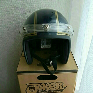 ホタル様 DAMMTRAX classical line ヘルメット  ネイビー(ヘルメット/シールド)
