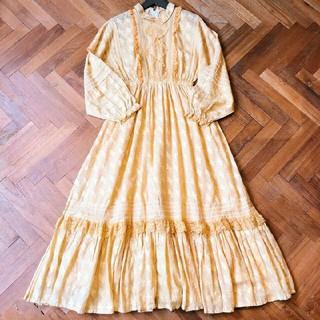ガニーサックス(GUNNE SAX)のvintage dress(ロングワンピース/マキシワンピース)